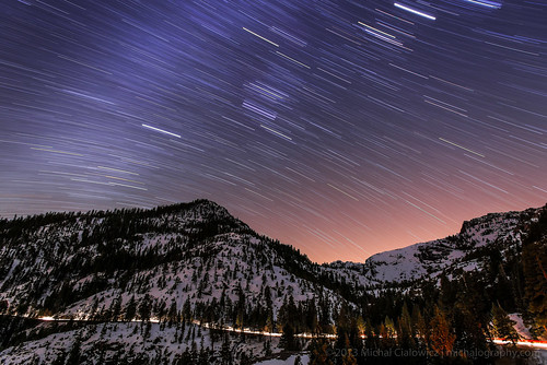 Night Sky Above Emerald Bay | by Mike Cialowicz