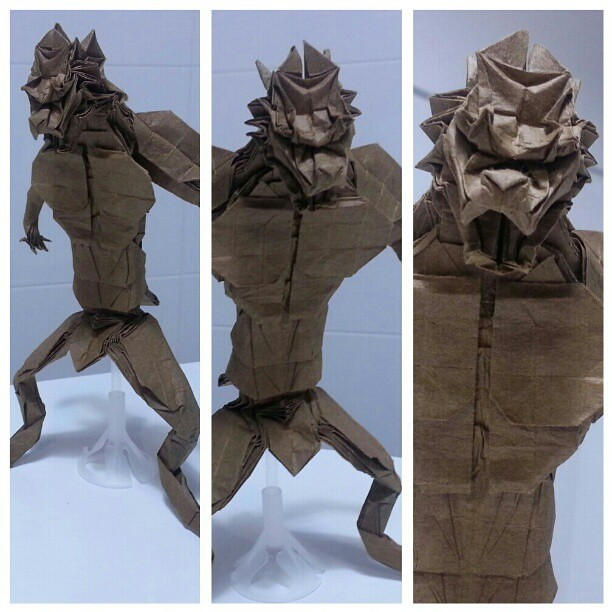 More Views Of Werewolf By Le Tuan Origami