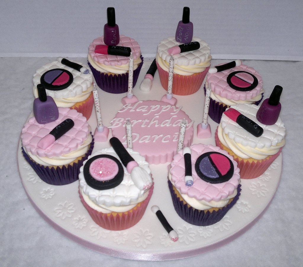 Make-up Cupcakes | Flickr