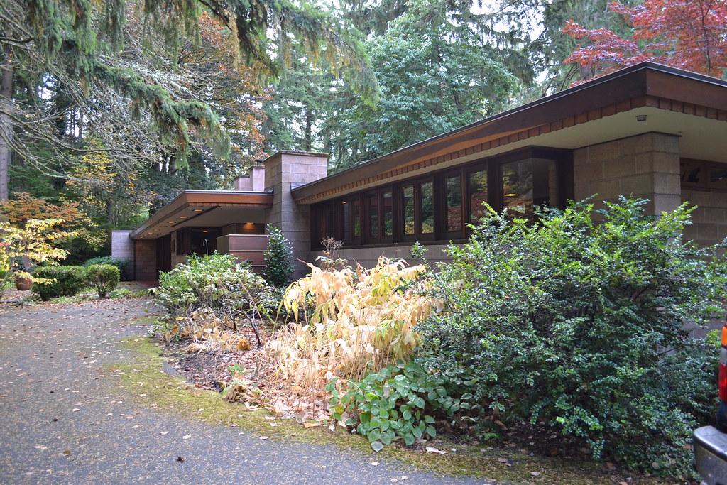 Frank Lloyd Wright S Barnes House Exquisite Usonian