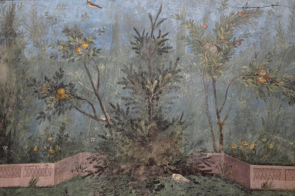 The Garden Painting Of The Villa Of Livia At Prima Porta I