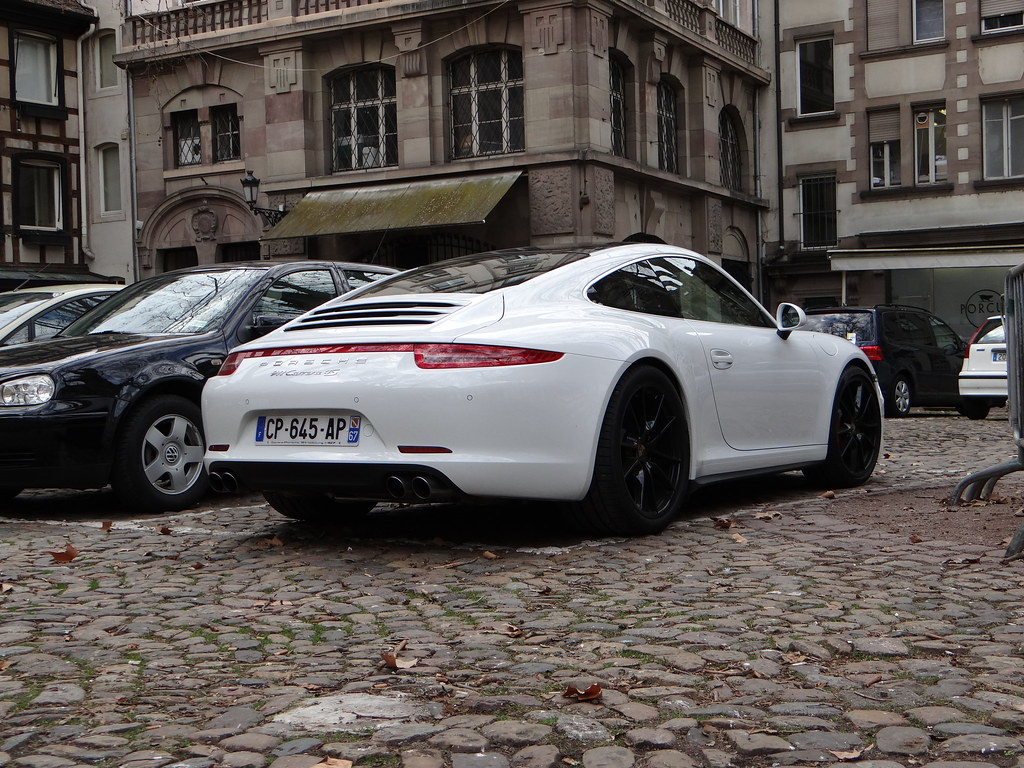 Porsche 911 991 Carrera 4s There S Only One Word For