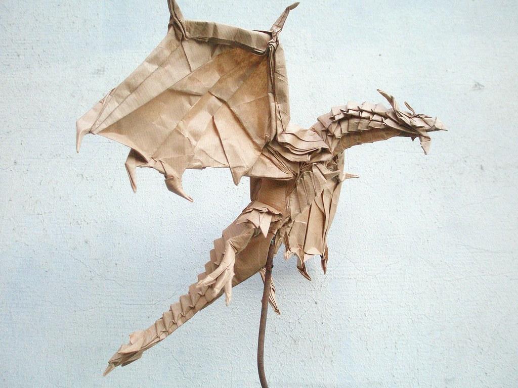 test fold of the alduin by kamiya satoshi folded by artur