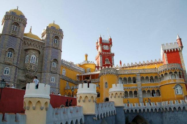 Lisbona, sintra, Palacio de Pena (1)