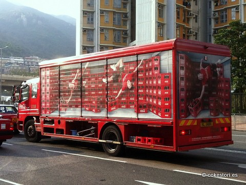 Swire Coca Cola Truck In Shatin Hong Kong ŏ�樂春秋 Flickr
