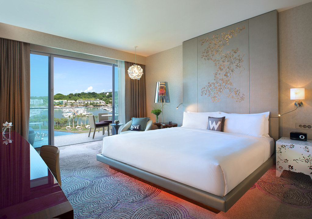 W Hotel Singapore Fabulous Room