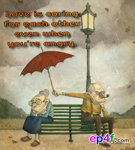 Our Love For Each Other: Love Is Caring For Each Other Even When You