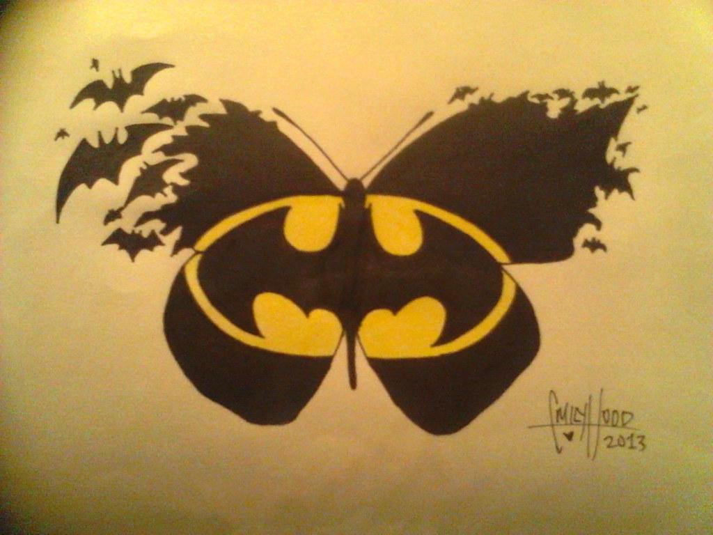 043b50f70 Batman Tattoos: Batman Tattoos Batman Emblem Tattoos: Tattoo Design For  Rebeccah