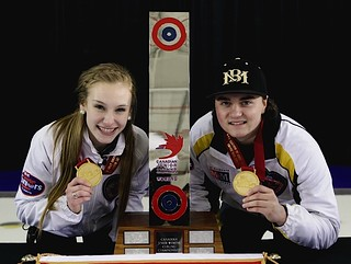 Canadian champs Brown and Dunstone | by seasonofchampions