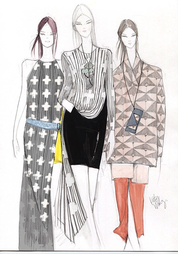 Sketches | Jeremy Laing NYFW 2013 | by Nothing Wong