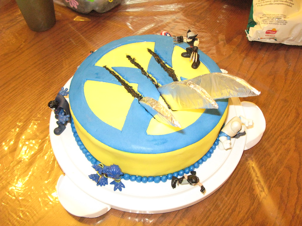Wolverine Birthday Cake