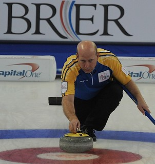 Edmonton Ab.Mar3,2013.Tim Hortons Brier.Alberta skip Kevin Martin.CCA/michael burns photo | by seasonofchampions