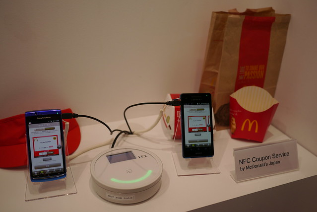 MWC Barcelona 2013  - Felica Networks NFC