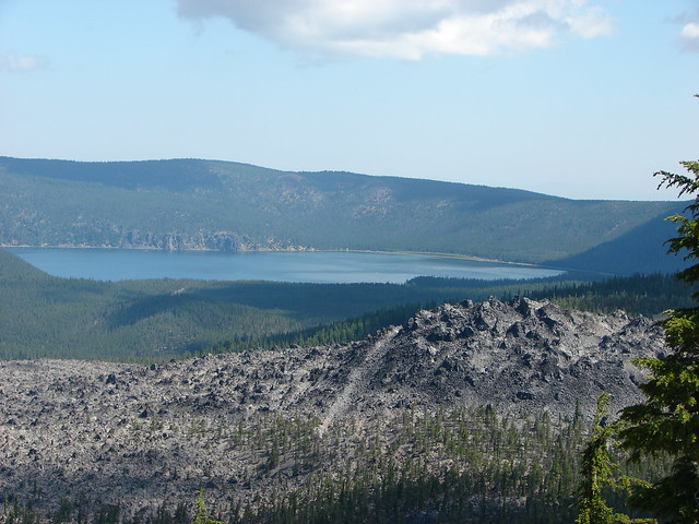 East Lake and the Big Obsidian Flow