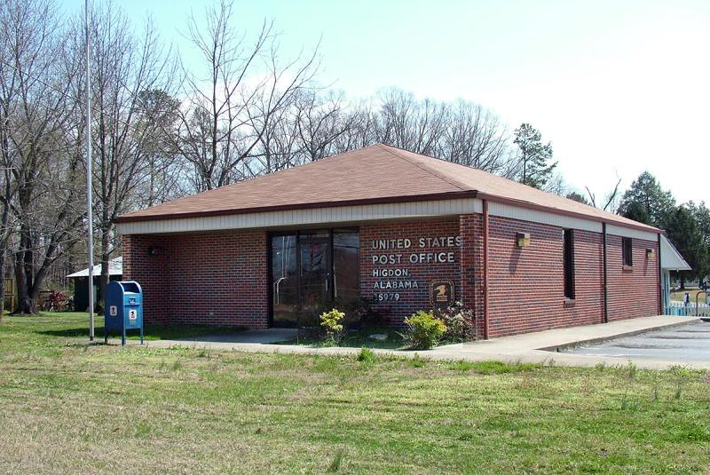jackson post office higdon al post office jackson county photo by j 350