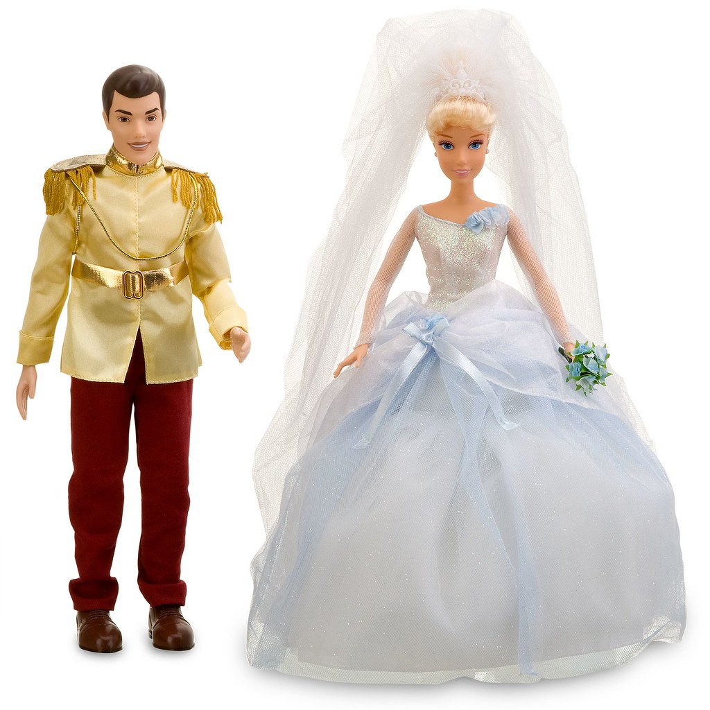 Disney Princess Cinderella Singing Doll And Costume Set: 2011 Disney Princess Once Upon A Wedding Prince Charming A