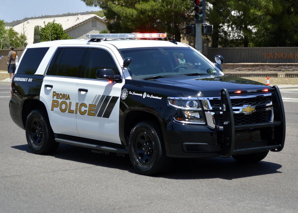 Peoria Arizona Police- 2015 Chevy Tahoe | Phoenix Arizona ...