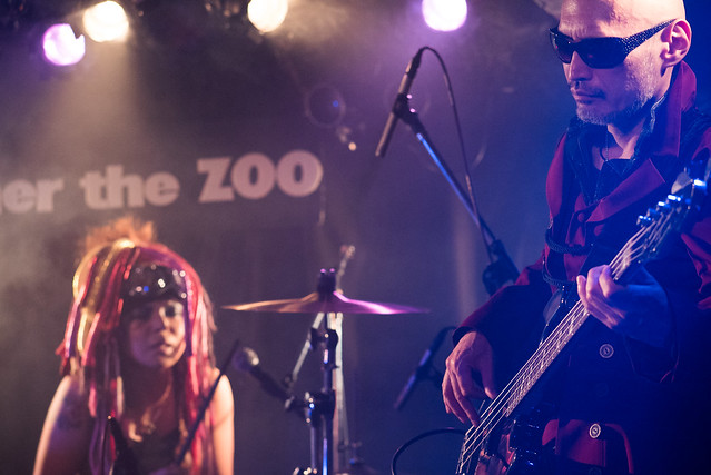 Coal Tar Moon live at Zher the Zoo, Tokyo, 27 Sep 2016 -00267
