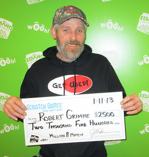 Robert Grimme - $2,500 Million $$ Match | by Idaho Lottery