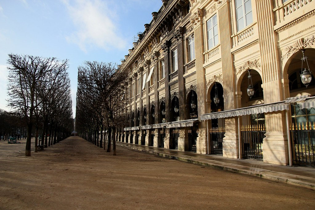 Jardin Du Palais Royal Paris December 2012 V15 Roy Kenyon Flickr