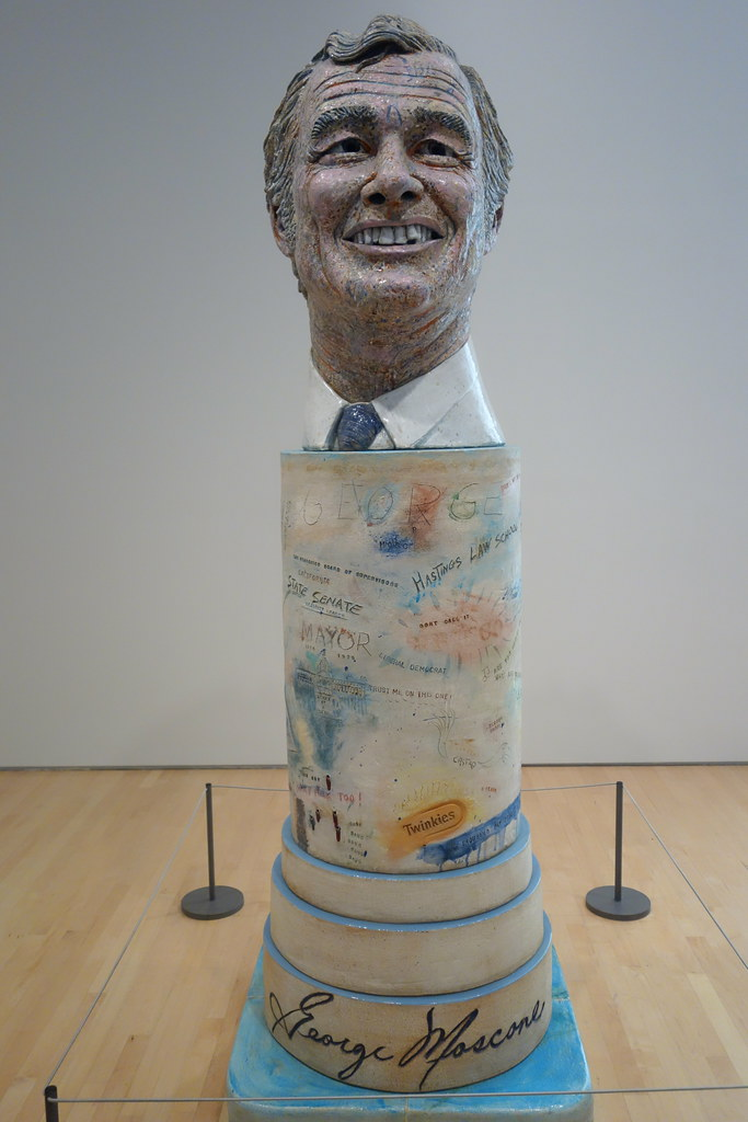 controversial george moscone sculpture by robert arneson a u2026