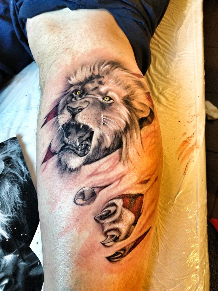 Тату льва значение на зоне