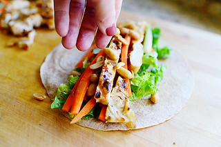 Thai Chicken Wraps | by Ree Drummond / The Pioneer Woman
