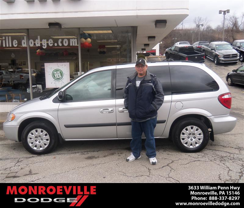 Congratulations To Mark Lieu On The 2006 Chrysler Town And