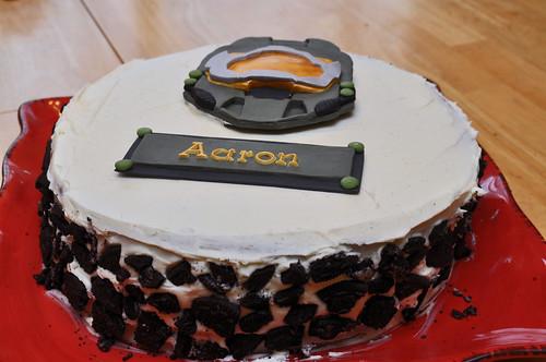 Halo Birthday Cake Photos