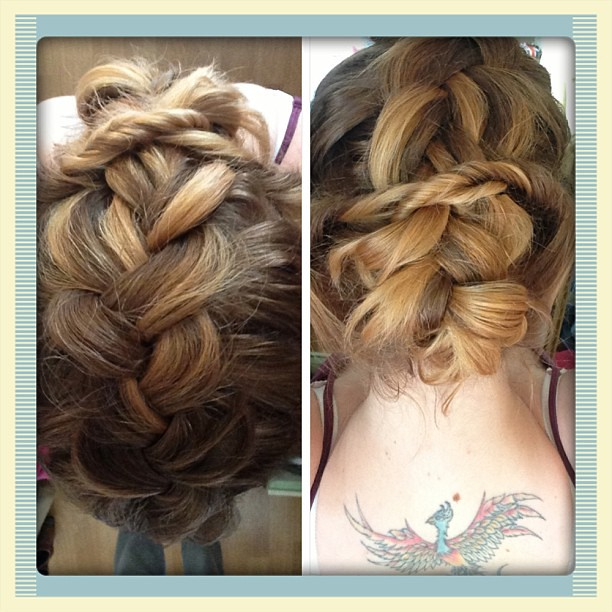 My attempt at a pancake braid and double twists by Cute Gi… | Flickr