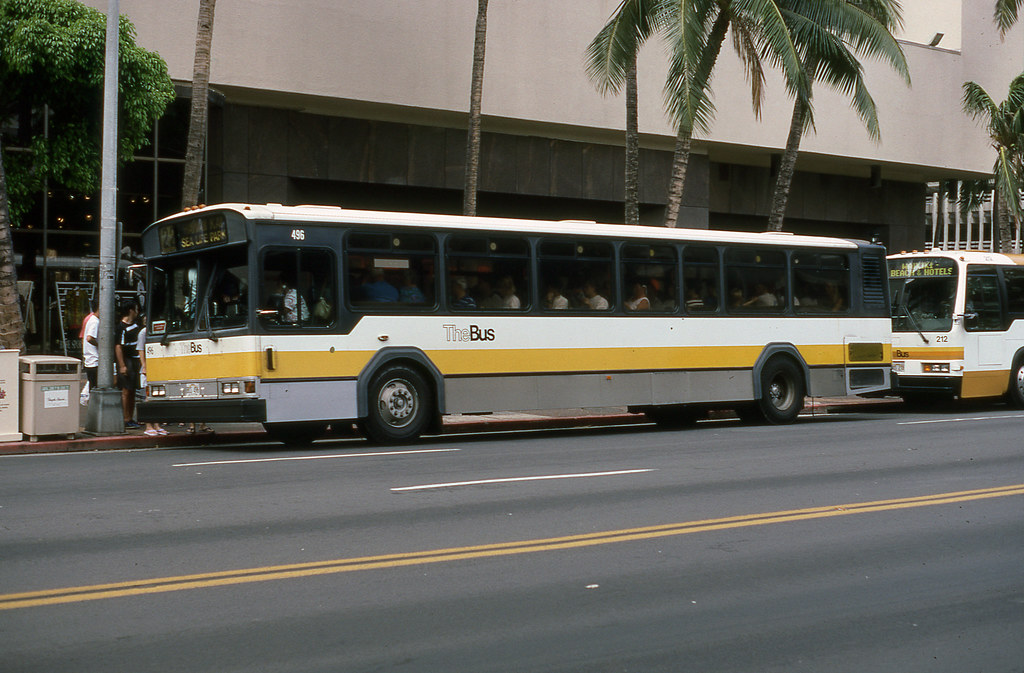The Bus 496 Honolulu 10-1994 Mb  Mbernero  Flickr-7705