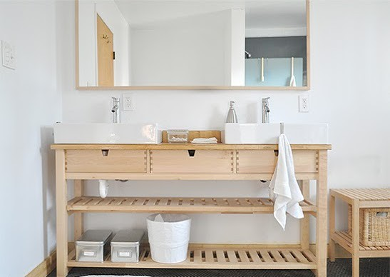 Ikea norden sink hack heath ashli flickr - Installation salle de bain ikea ...