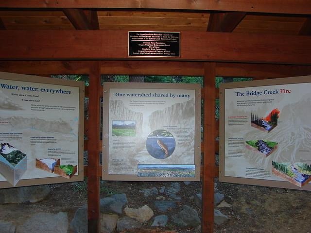 Tumalo Falls trailhead