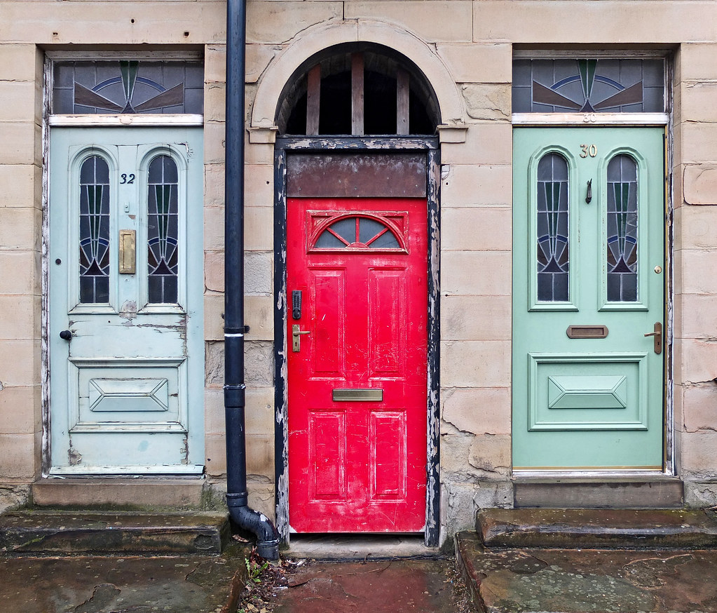 ... Three Doors | by Tim Green aka atoach & Three Doors | Manchester Road Huddersfield | Tim Green | Flickr