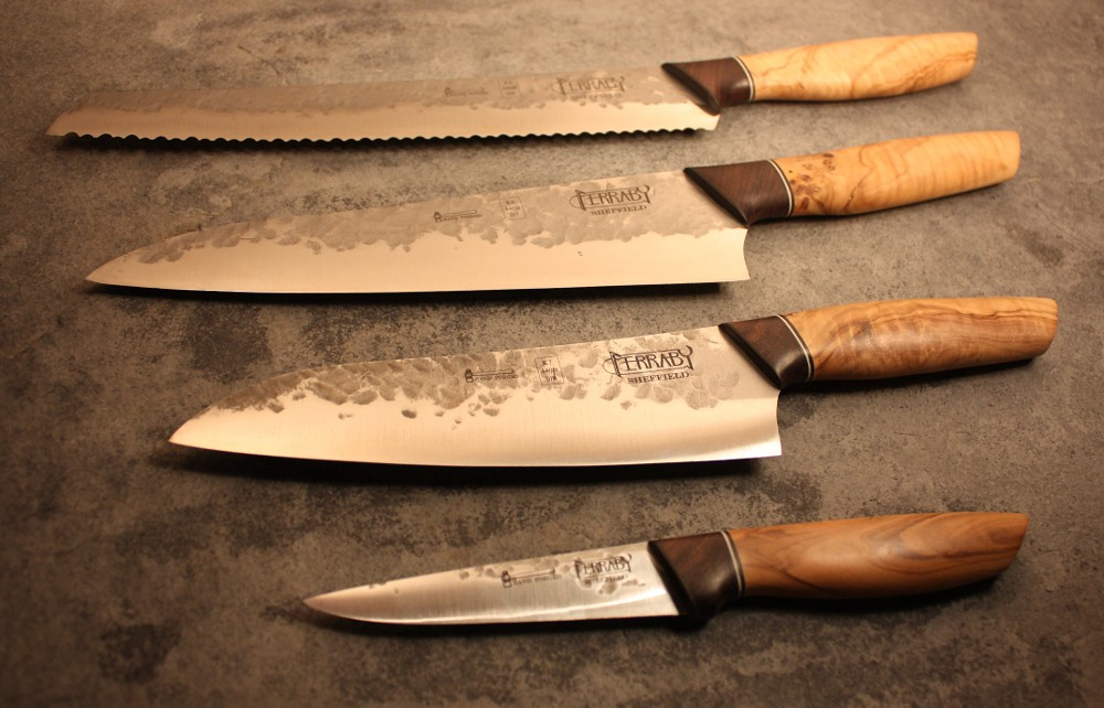 handmade kitchen knives uk handmade kitchen knife set set of 4 hand made kitchen kniv flickr 6814