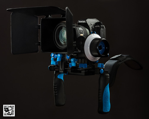Pentax k5 in a video rig. | by usuqa