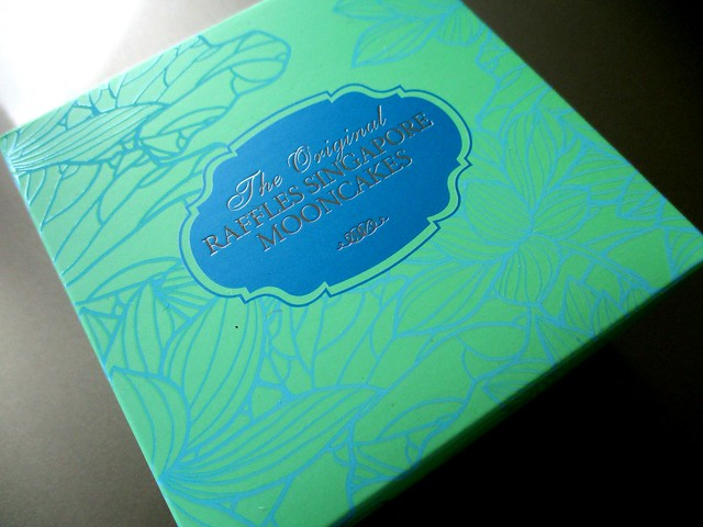 The original Raffles Singapore mooncake 1