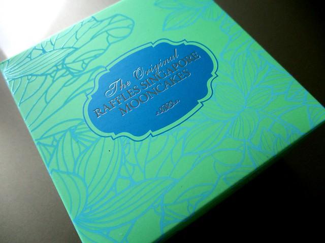 The original Raffles Singapore mooncake 1