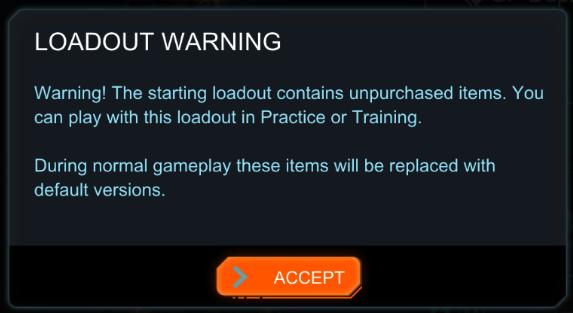Play Warning