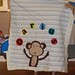 Monkey Quilt - before