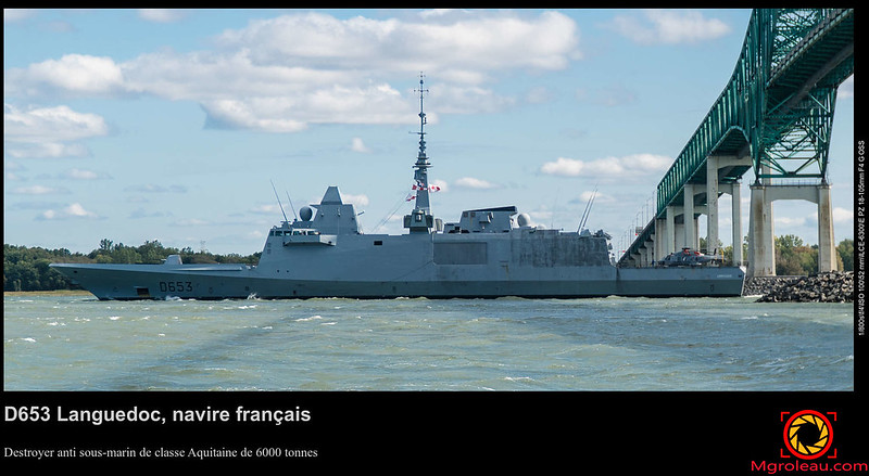 D653 Languedoc, navire français