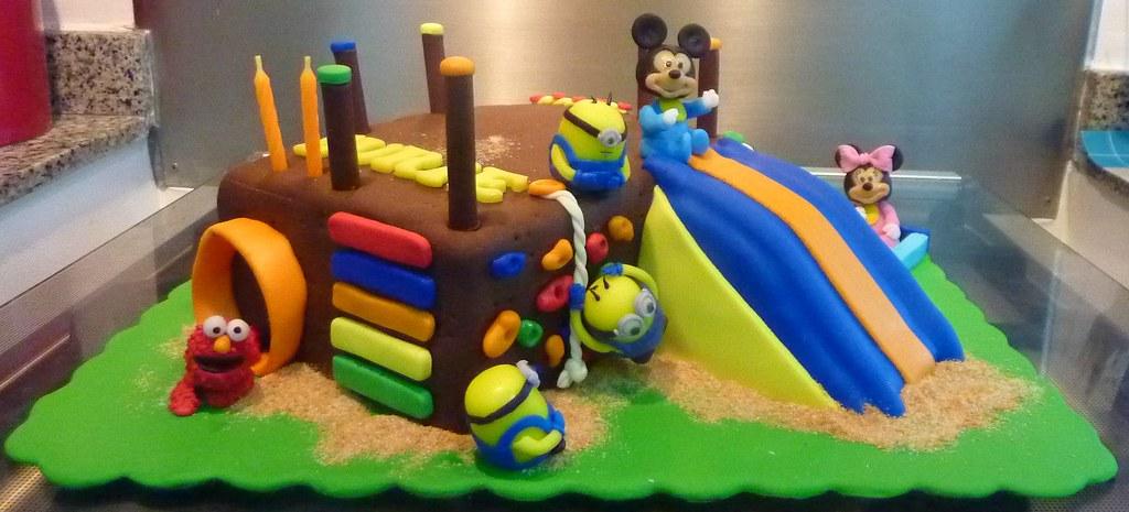 Playground Cake Little Miss Ocs Kitchen Flickr