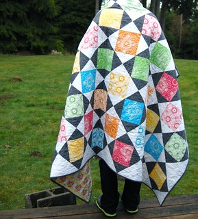 Juicy - in Modern Quilts from the Blogging Universe | by Happy Zombie