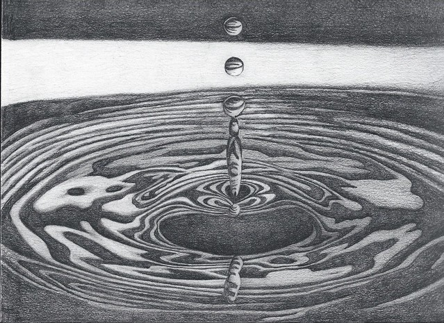 Water Drawing - pencil | Flickr - Photo Sharing!