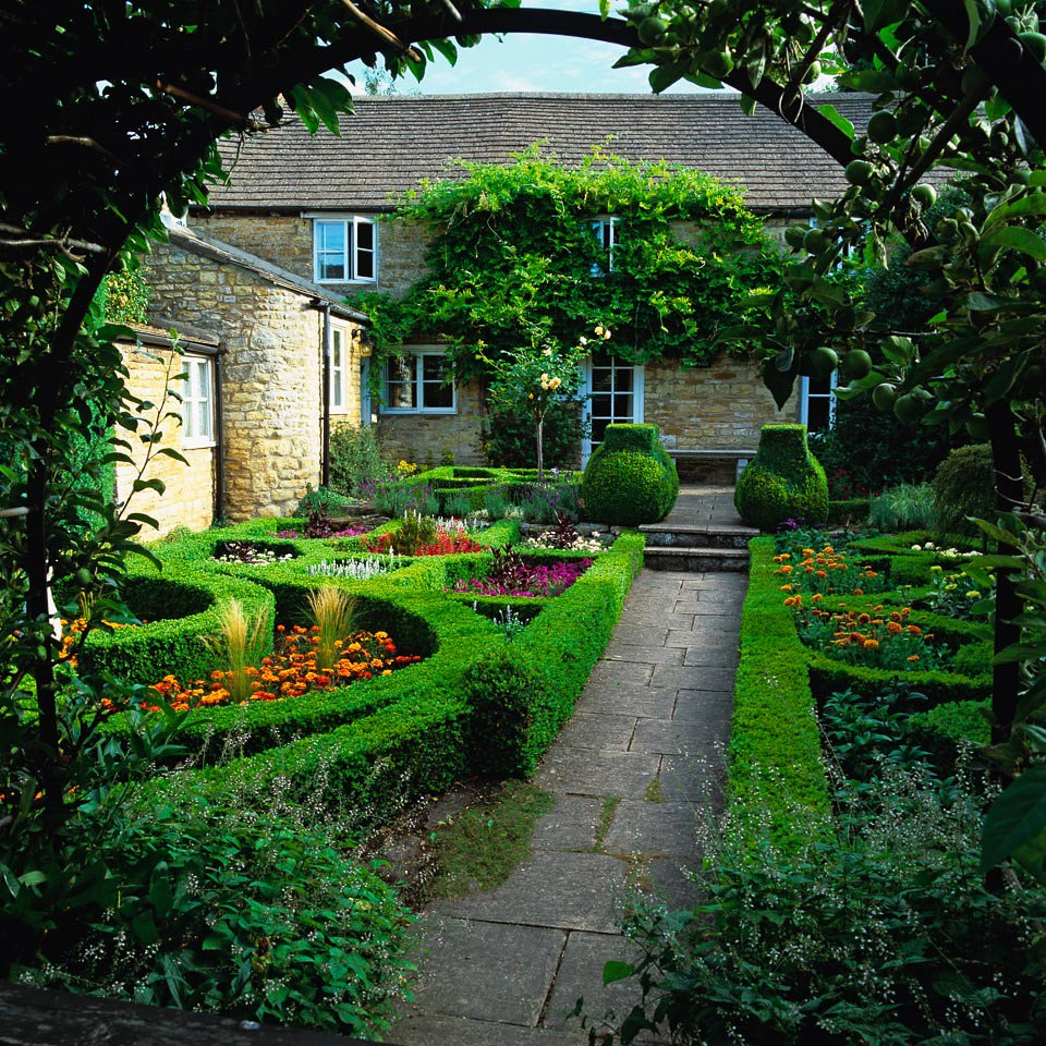 Parterre or knot garden knot garden parterre a for Parterre 3d