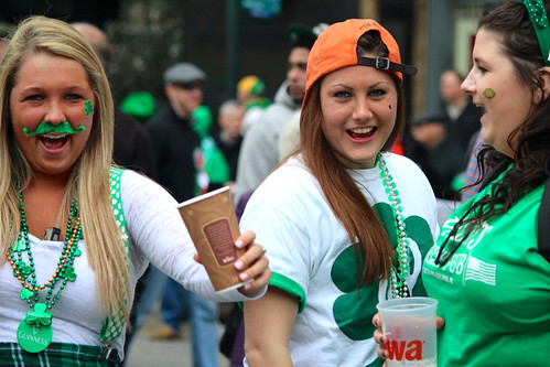 Irish girls in party remarkable
