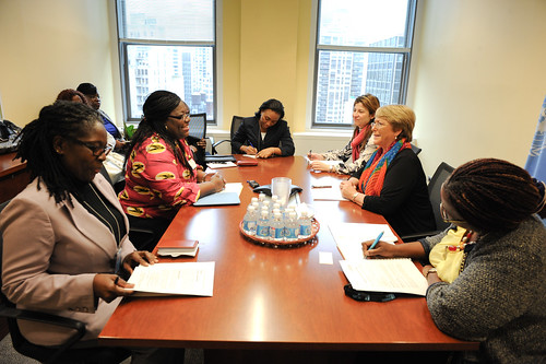 UN Women Executive Director Michelle Bachelet meets with Minister of Ghana | by UN Women Gallery