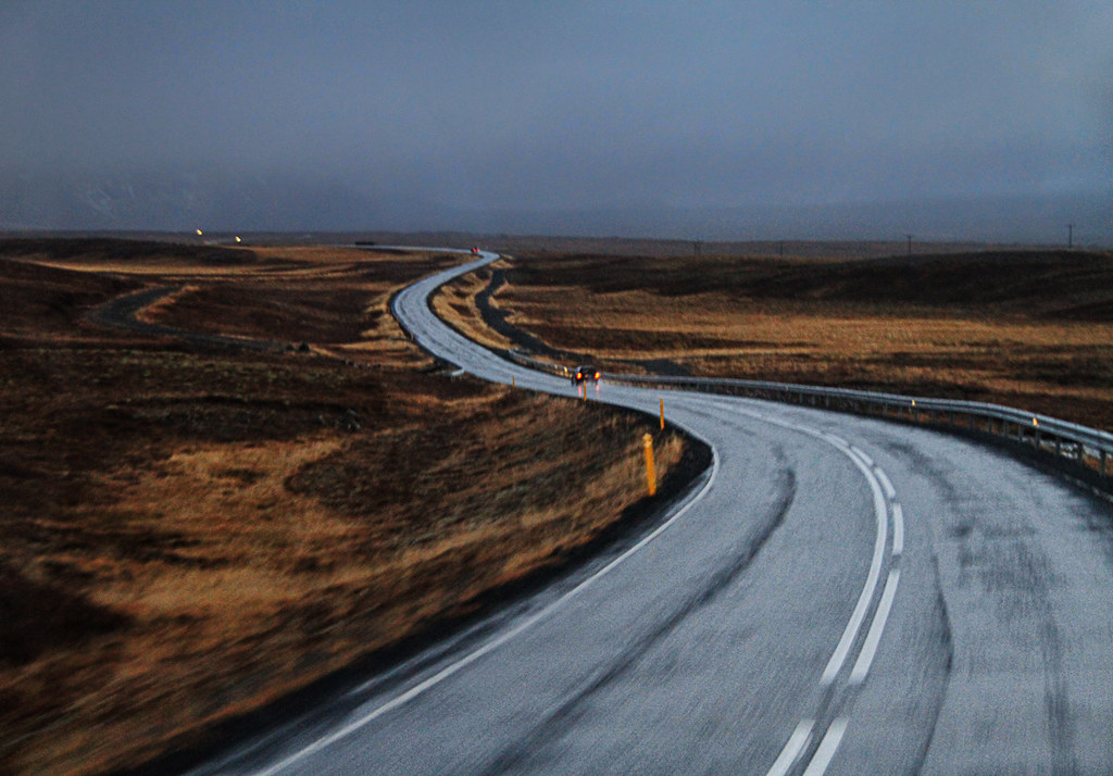 Long Winding Road in Iceland | If you go to Iceland, the ...