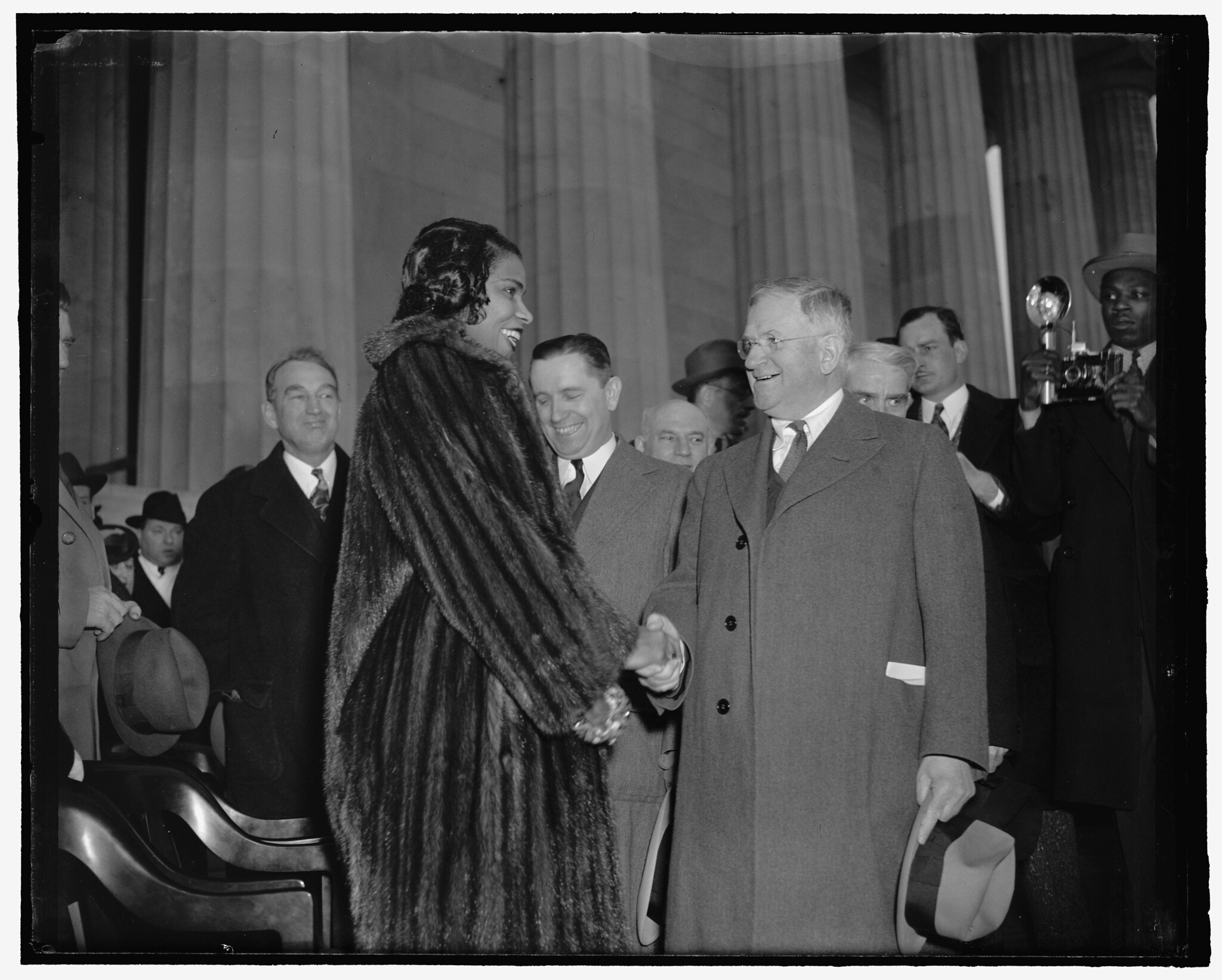 Marian Anderson Sings at Lincoln Memorial: 1939 # 4