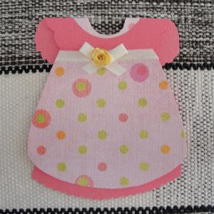 Convite Chá De Bebê Vestido Estampa E Cor Flickr